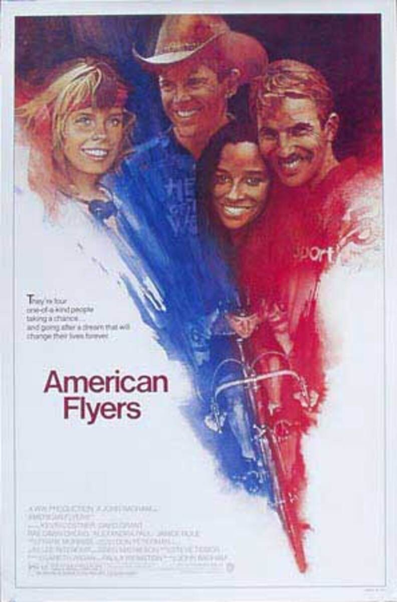 American Flyers Original Vintage American Movie Poster