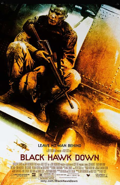 Black Hawk Down Original Movie Poster