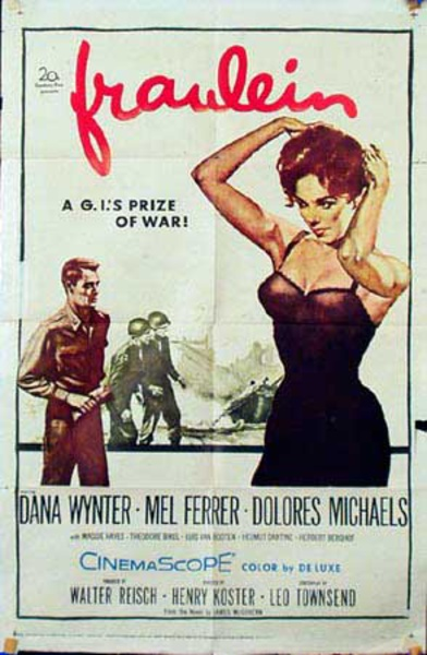 Fraulein Original Vintage Movie Poster