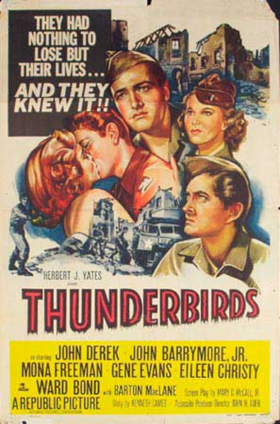 Thunderbirds Original Vintage Movie Poster