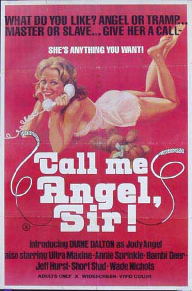 Call Me Angel, Sir! Original X Rated Movie Poster