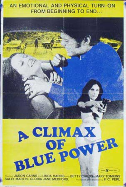 A Climax of Blue Power Original X Rated Movie Poster