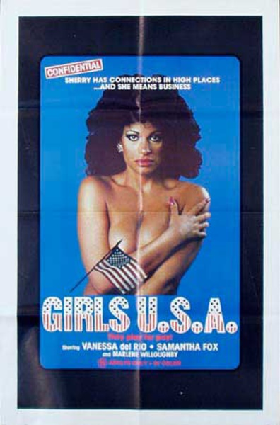 Girls USA Original Vintage Movie Poster