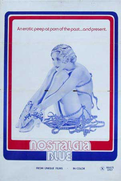 Nostalgia Blue Original X Rated Movie Poster