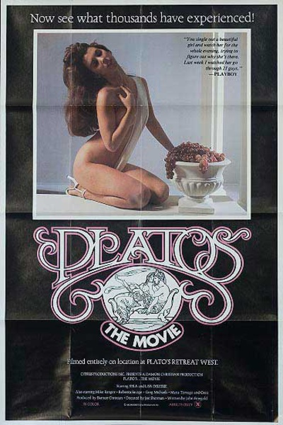Platos Retreat the Movie Original Vintage X Rated Movie Poster