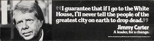 Jimmy Carter Original Campaign Poster I guarantee ...