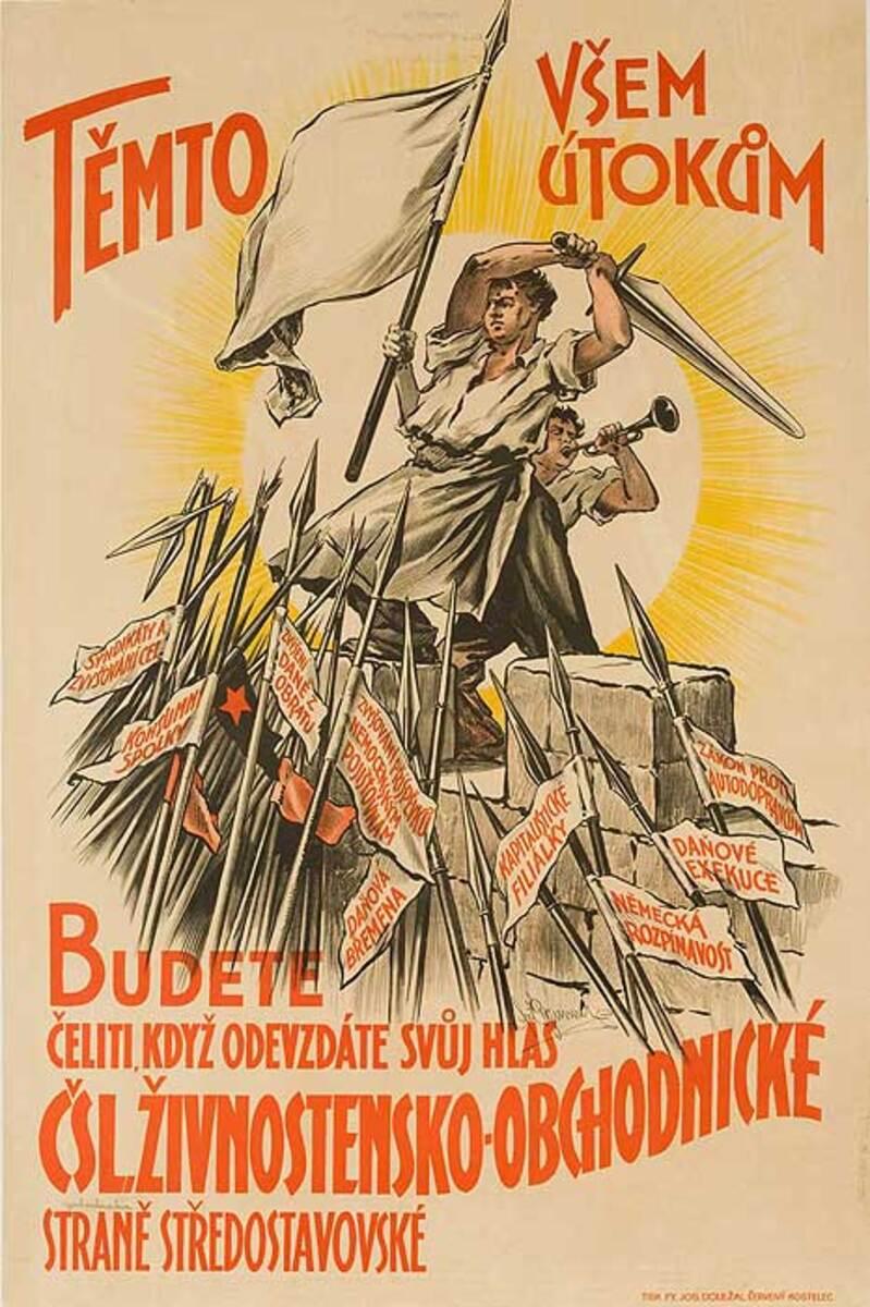Czech Political Poster Tempto