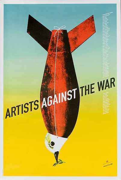 Artists Against the War Original American Protest Poster
