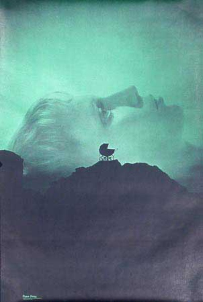 Rosemary's Baby Original Vintage 1960s Psychedelic Poster