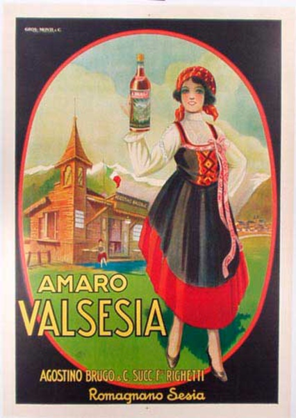Amaro Original Vintage Advertising Poster