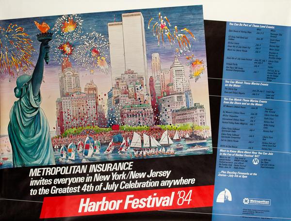 New York City (NYC) Harbor Festival Poster 1984