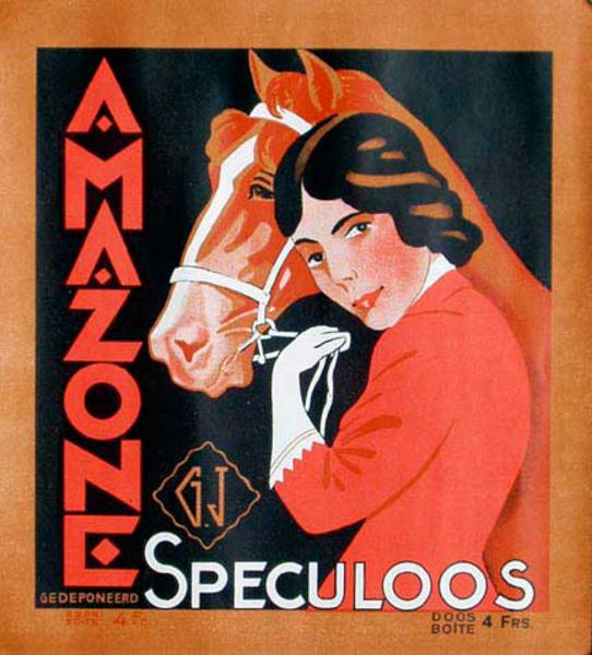 Amazones Original Vintage Advertising Poster