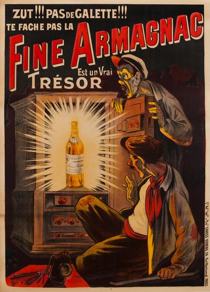 Fin Armanac Original Vintage Advertising Poster