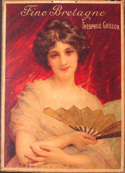 Fine Bretagne Theopile Guillon Original Vintage Advertising Poster