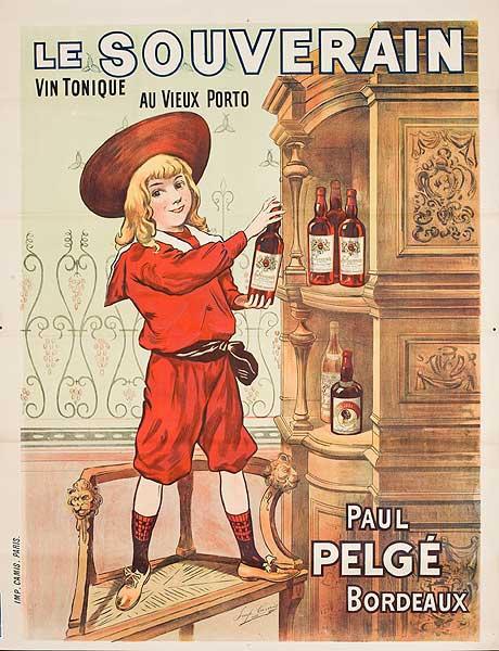 Le Souverain Original French Advertising Poster