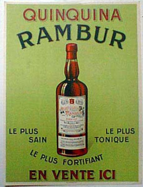 Rambur Original Vintage Advertising Poster