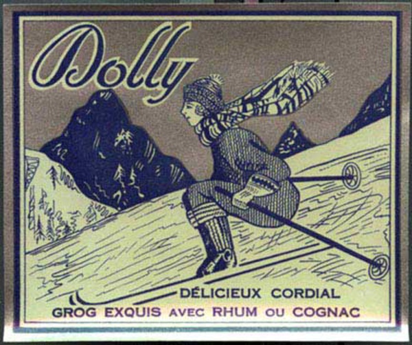 Dolly Grog, wine label