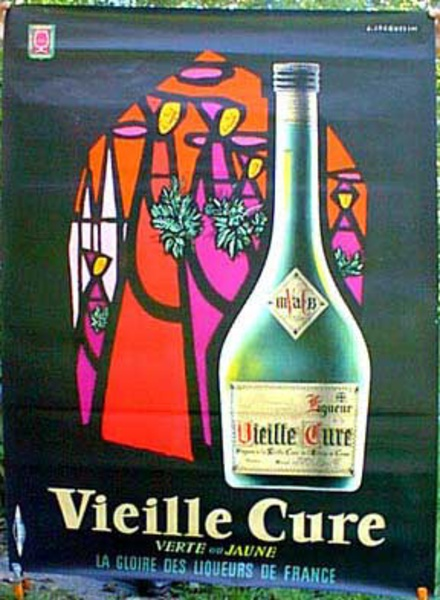 Vielle Cure Original Vintage Advertising Poster