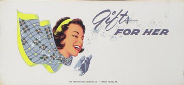 Stock Original Vintage Advertising Poster Gifts For Her