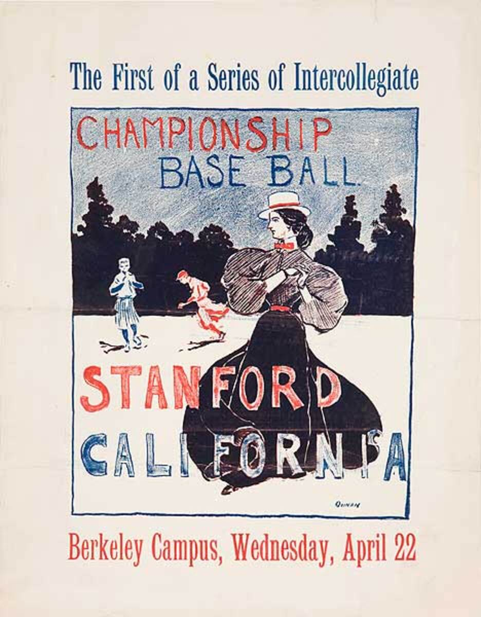 The First of a Series of Intercollegiate Championship Base Ball Stanford California