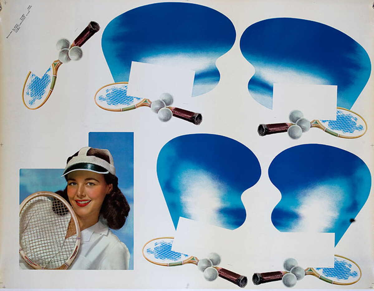 Huge Generic Tennis  Poster
