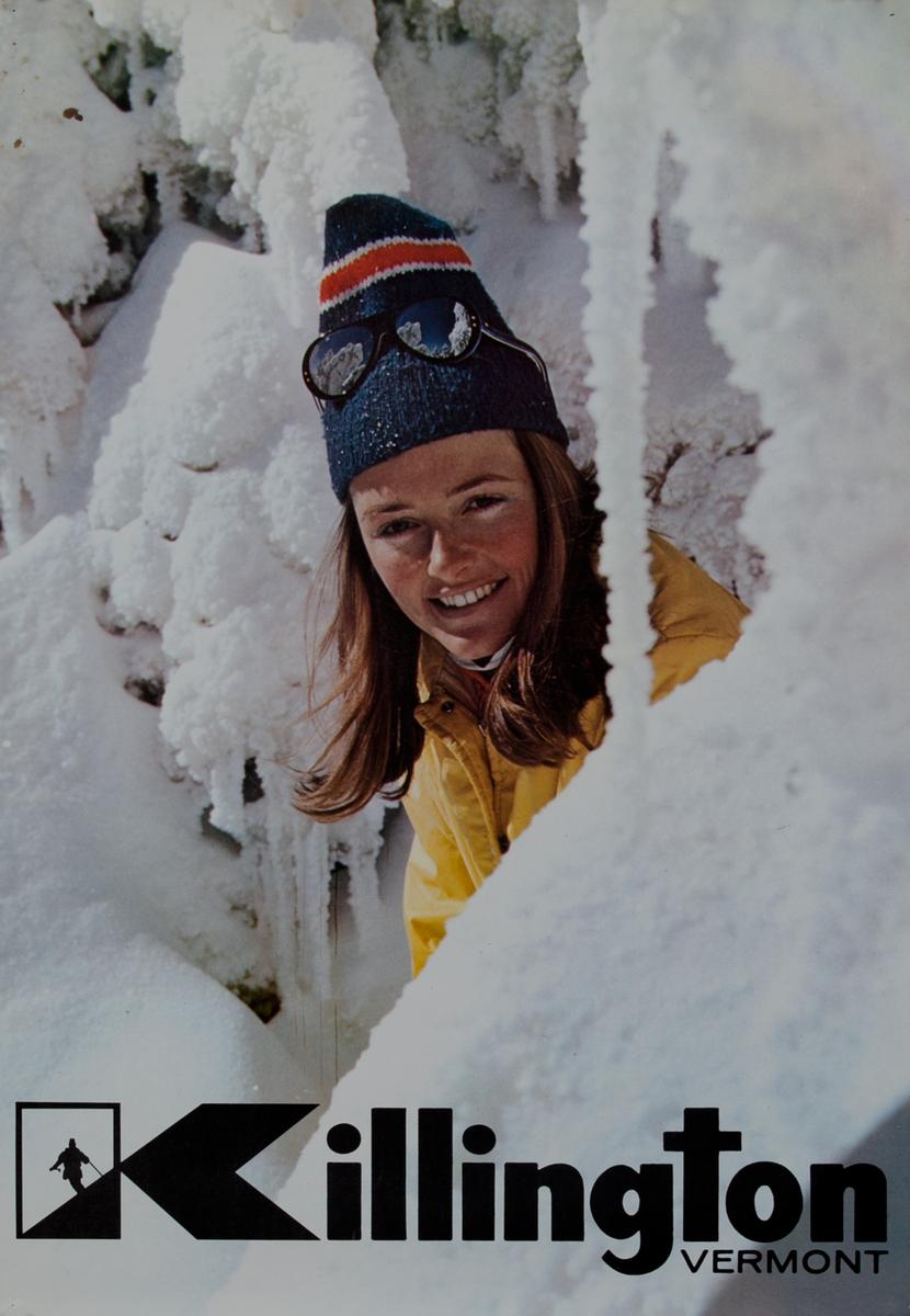 Killington Vermont Original American Ski Poster