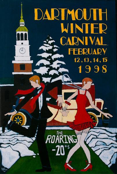 Dartmouth Winter Carnival, Original 1998 [[Ski]] Poster