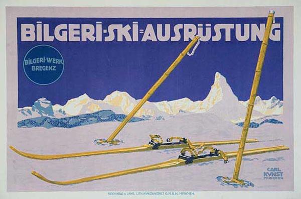 Bilgerie [[Ski]] Poster