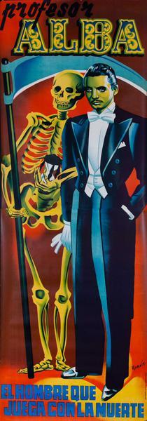 Professor Alba (lg) Magic Original Vintage Poster
