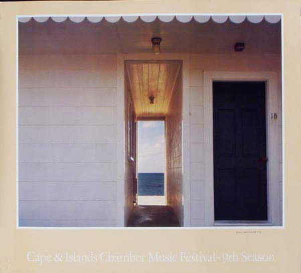 Cape and Islands Chamber Music Festival 9th Season Original Advertising Poster