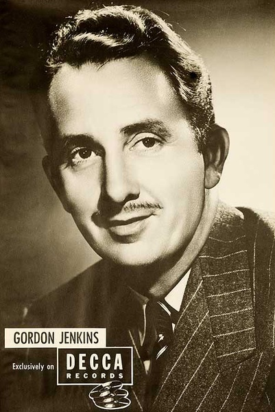 Decca Records Original Adverting Poster Gordon Jenkins