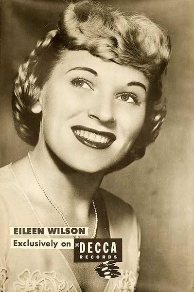 Decca Records Original Adverting Poster Eileen Wilson