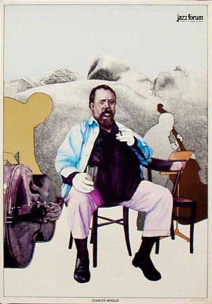 Charlie Mingus Original Jazz Forum Poster