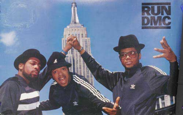 Run DMC Original Rap Poster Empire State
