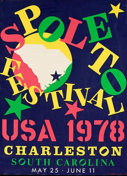 Spoleto Music Festival 1978 Original Poster