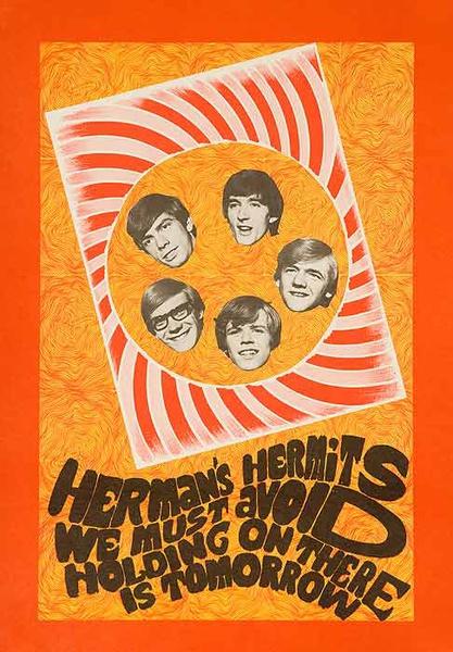 Hermans Hermits Original Rocka nd Roll Poster