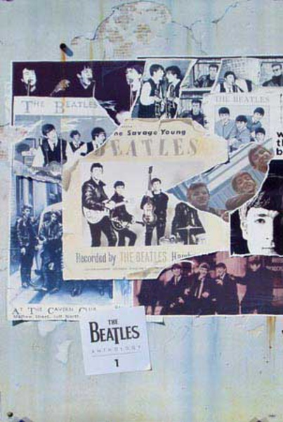 Beatles Anthology 1 Original Rock and Roll Poster