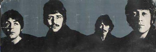 Beatles Richard Avedon Horizontal Look Magazine Poster