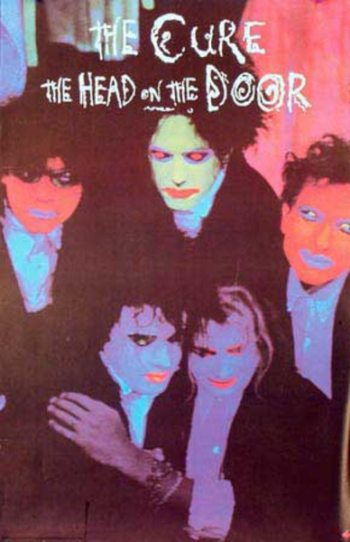 The Cure Original Rock and Roll Poster The Head on the Door