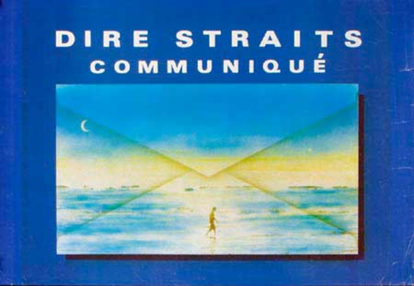 Dire Straits Original Rock and Roll Poster Communique