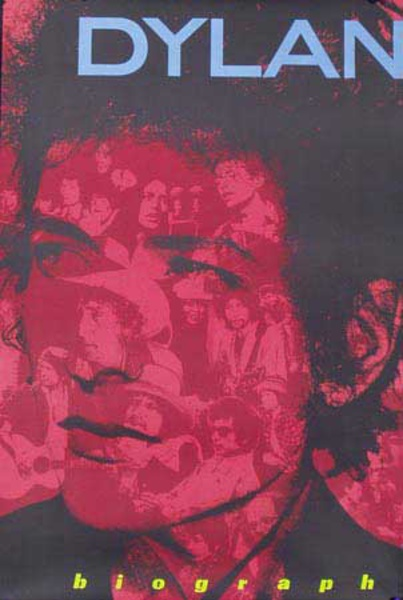 Dylan Biograph Original Rock and Roll Poster