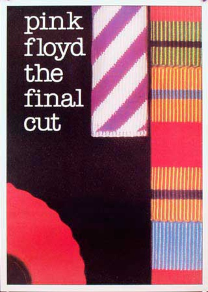 Pink Floyd Original Rock and Roll Poster The Final Cut