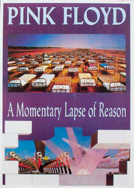 Pink Floyd Original Rock and Roll Poster A Momentary Lapse of Reason