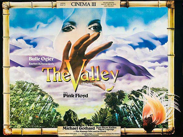 The Valley Pink Floyd Movie Original Vintage Rock and Roll Movie Poster
