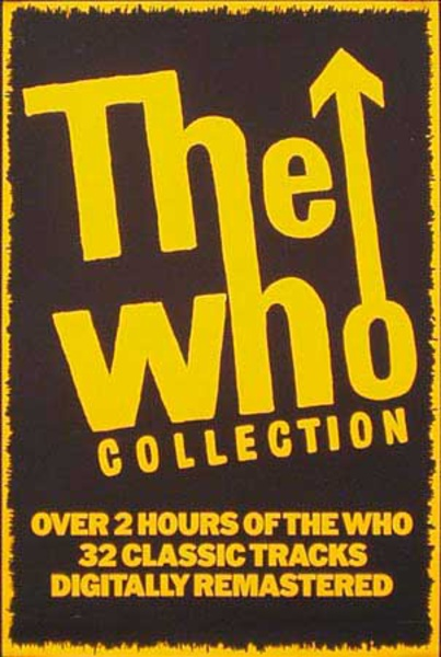 The Who Collection Original Rock and Roll Poster