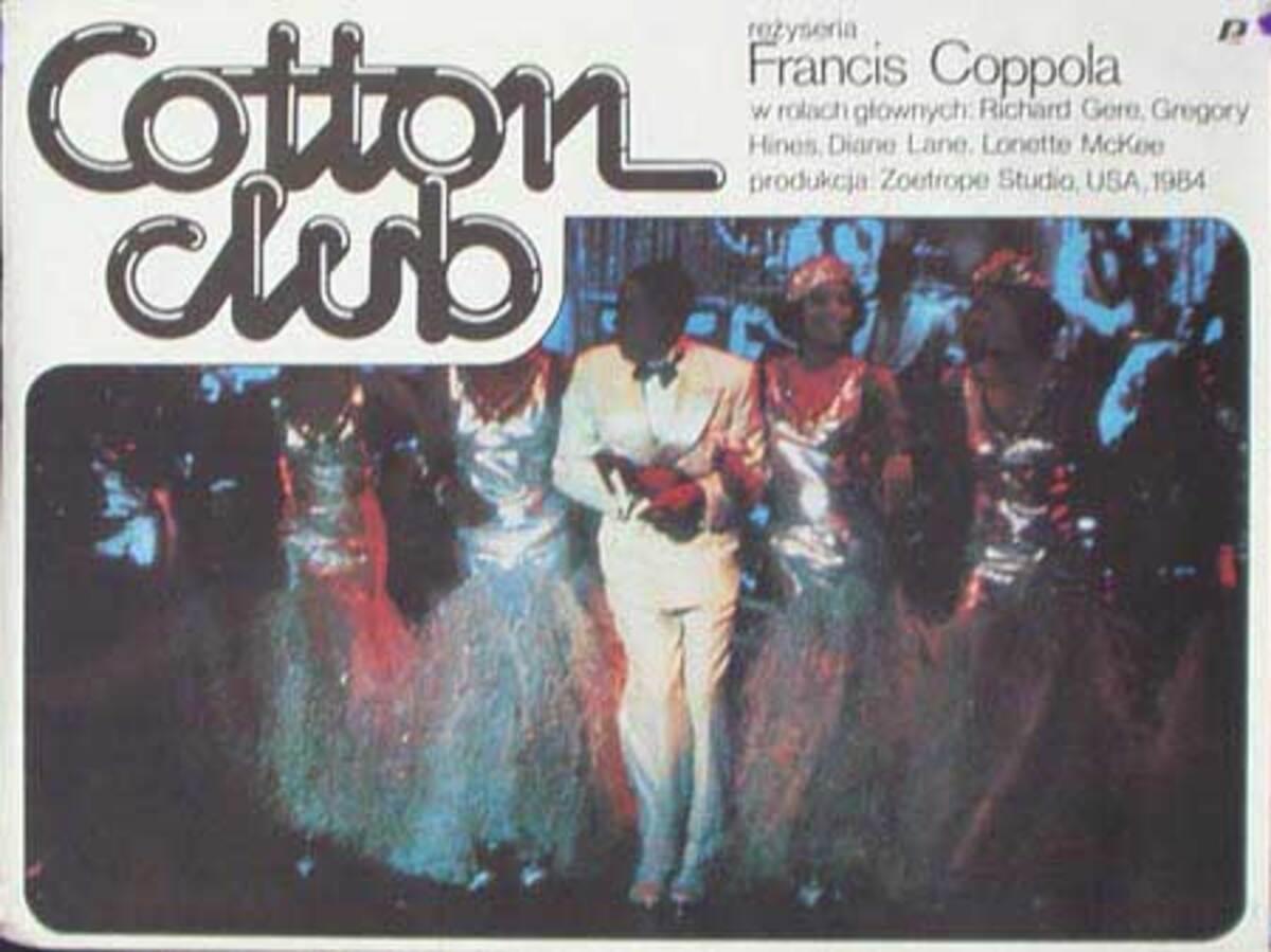 Cotton Club Original Vintage Movie Poster Polish Release