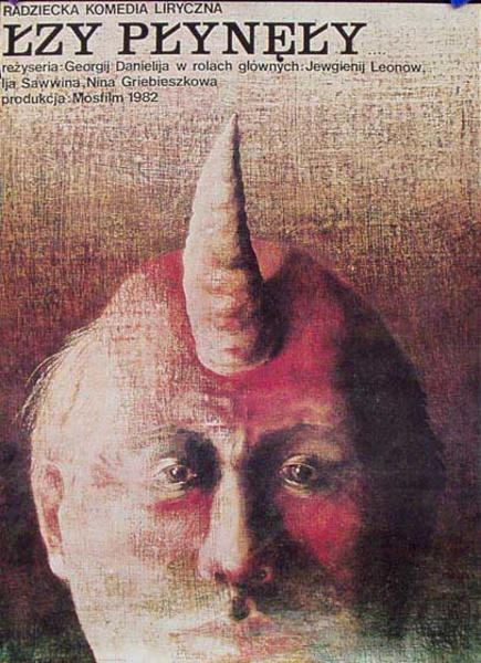 Lzy Plynely Original Vintage Polish Film Poster