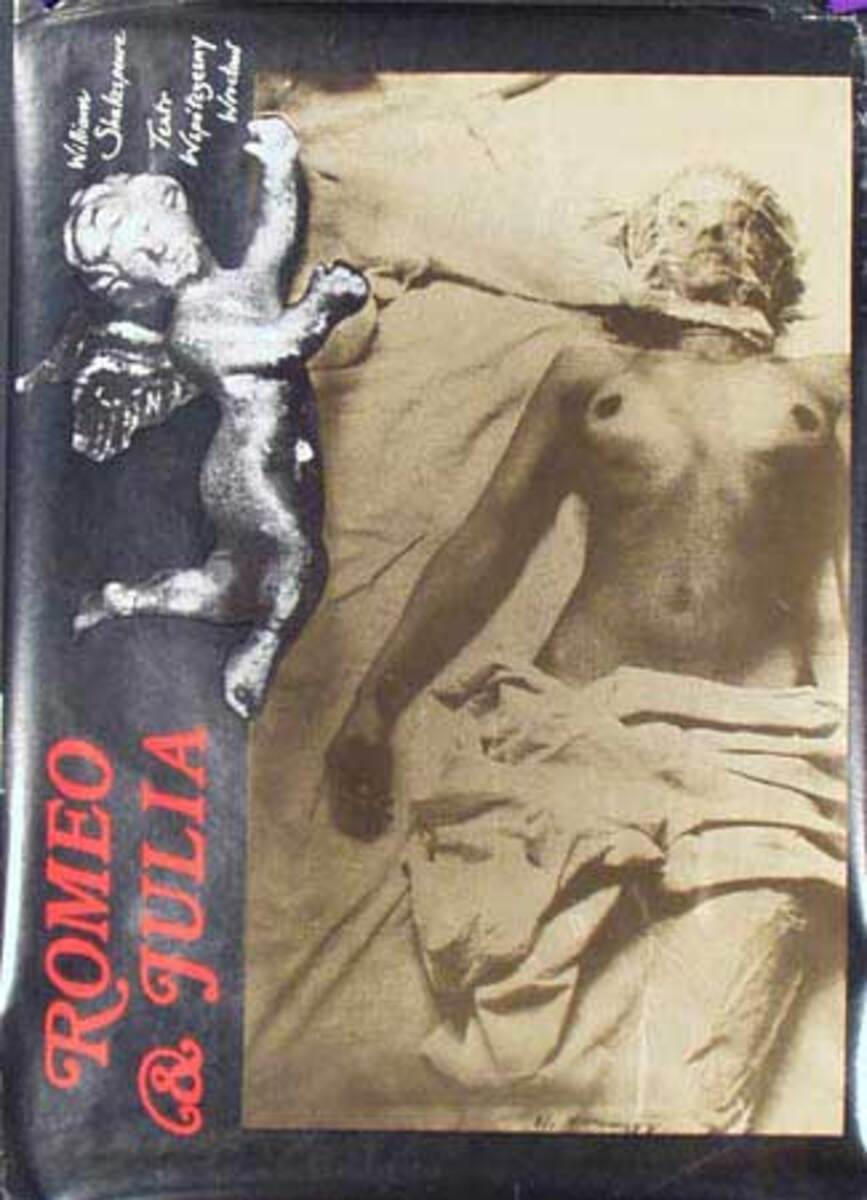 Polish Theatre Poster Romeo and Juliet Original Vintage Poster