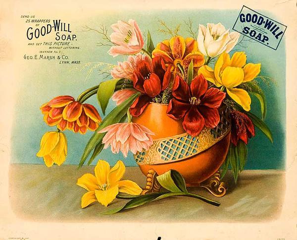 Good Will Soap Origonal American Advertising Poster