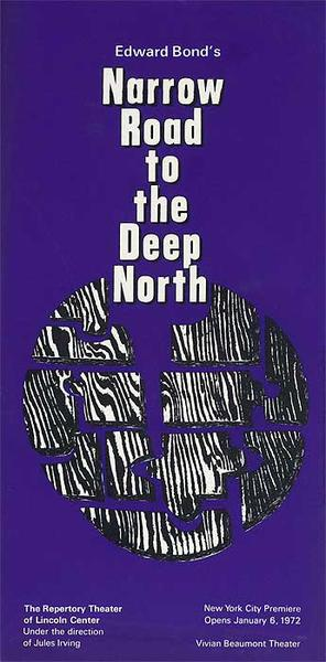 Narrow Road to the Deep North The Repertory Theater of Lincoln Center Original American Theater Poster